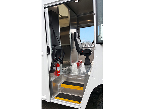 fedex ground stepvans for sale