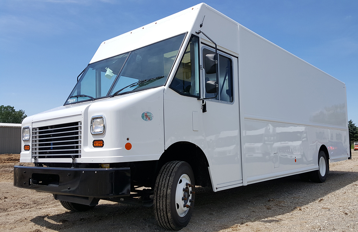 fedex stepvans for sale
