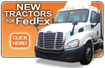 new fedex tractors